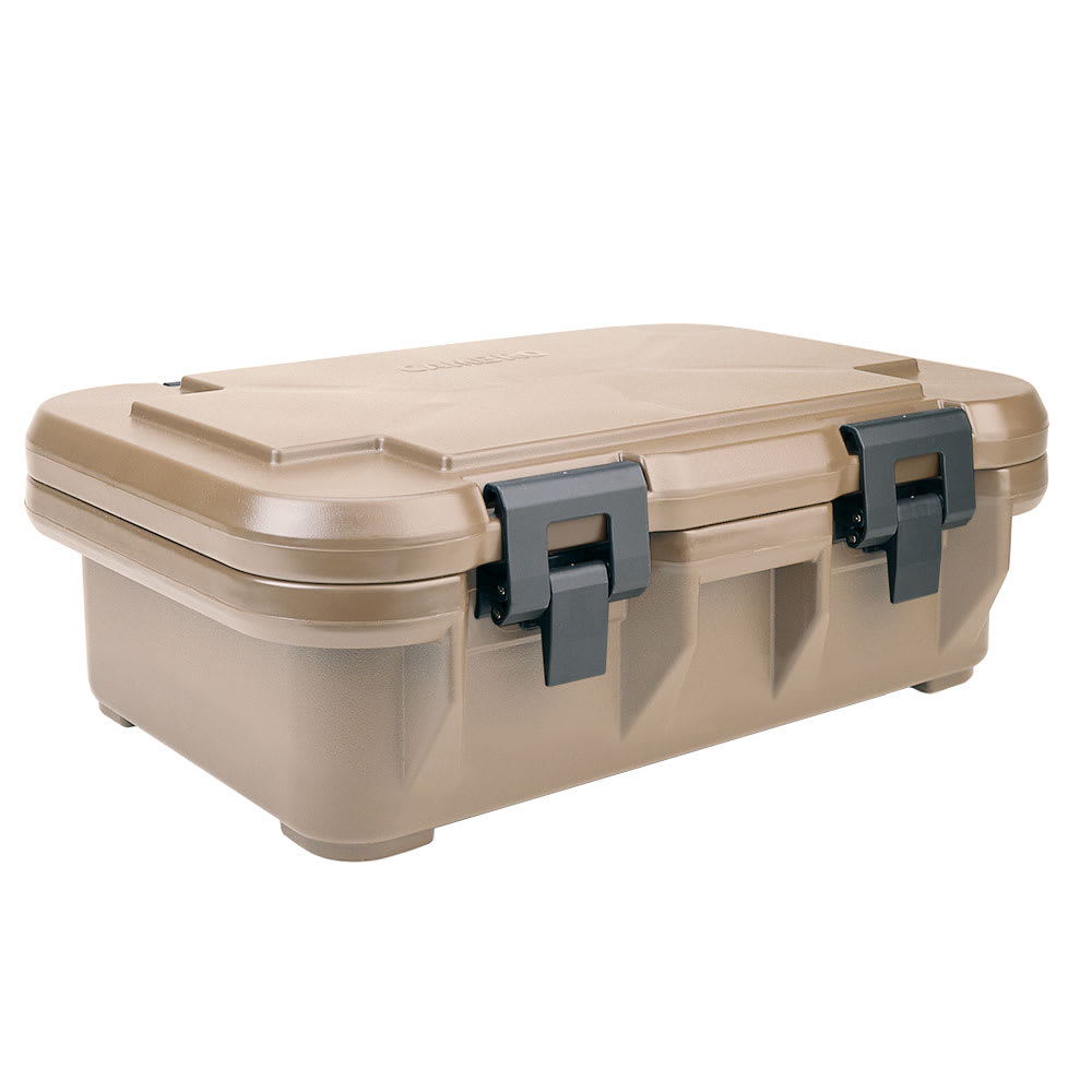 Cambro UPCS140157 12-qt S-Series Pancarrier - Top Loading, Coffee Beige