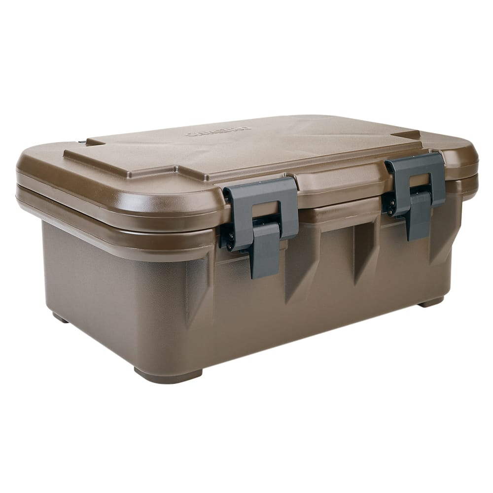 Cambro UPCS160131 20 qt S-Series Pancarrier - Top Loading, Dark Brown