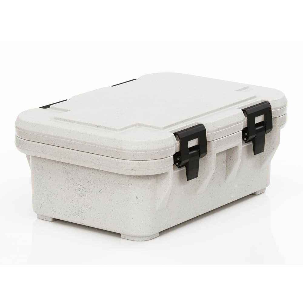 Cambro UPCS160480 20 qt S-Series Pancarrier - Top Loading, Speckled Gray