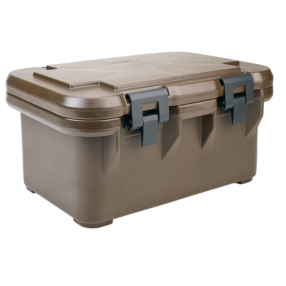 Cambro UPCS180131 24 qt S-Series Pancarrier - Top Loading, Dark Brown