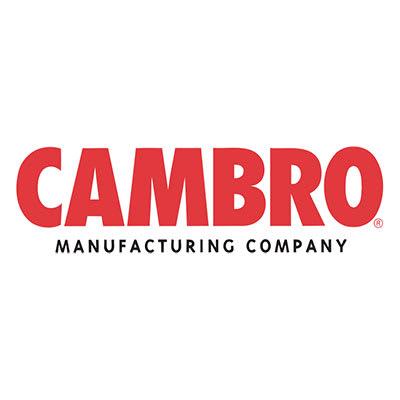 "Cambro VBRR5614 69"" Versa Food Bar Tray Rail - Sandstone"