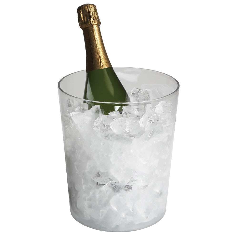 "Cambro WC100CWNH135 8"" Wine Cooler/Bucket - Clear"