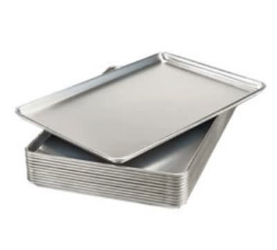 "Winholt AP-1826 Aluminum Display Tray, 18"" X 26"" X 1""Deep"