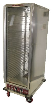 Win-Holt INHPL-1836C Full Height Mobile Heated Cabinet w/ (35) Pan Capacity, 120v