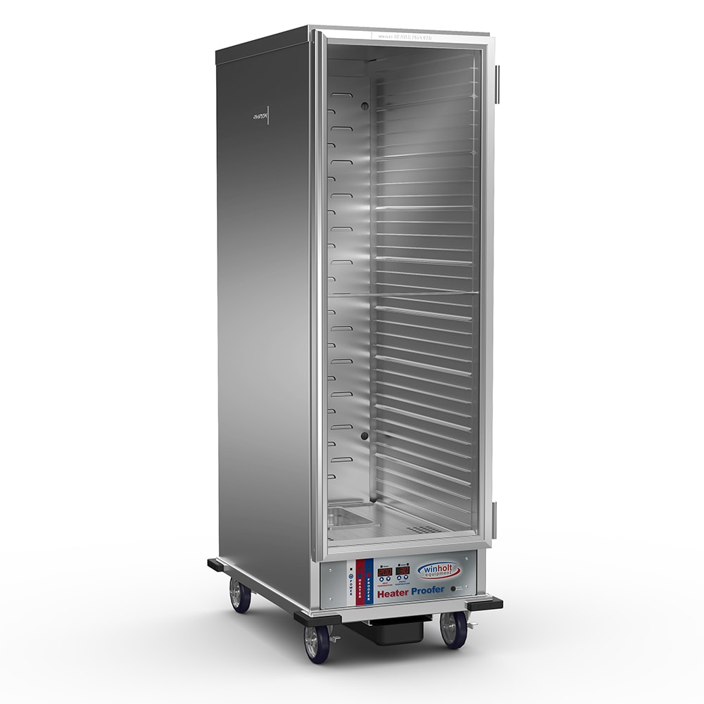 Winholt INHPL-1836C-DGT Full Height Insulated Mobile Heated Cabinet w/ (35) Pan Capacity, 120v