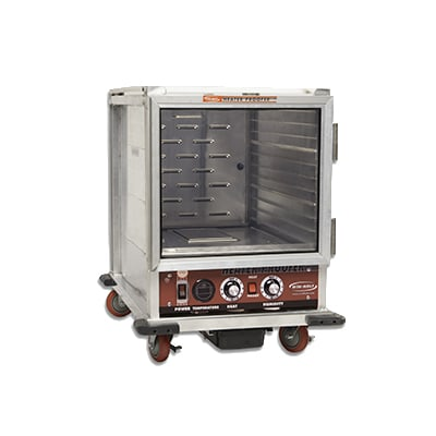 Win-Holt NHPL-1810/HHC 1/2-Height Mobile Heated Cabinet w/ (10) Pan Capacity, 120v
