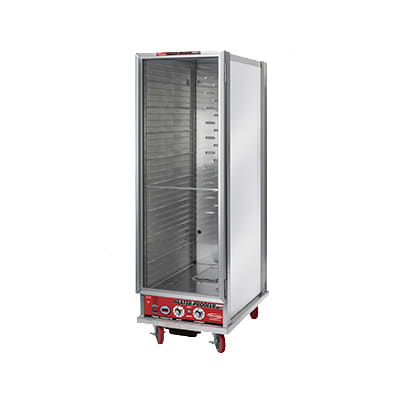 Win-Holt NHPL-1836-ECOC Full Height Mobile Heated Cabinet w/ (35) Pan Capacity, 120v