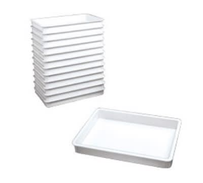Win-Holt PD-18263 Pizza Dough Box, 18 in x 26 in x 3 in, Heavy Duty ABS Plastic, NSF