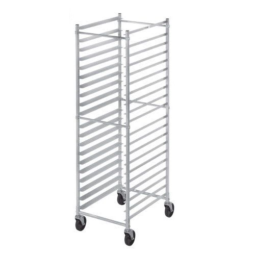 "Channel 402AKD 20.5"" 15-Bun Pan Rack w/ 4"" Bottom Load Slides"
