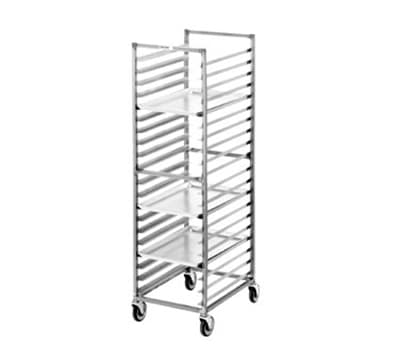 "Channel 402S 20.5""W 15-Sheet Pan Rack w/ 4"" Bottom Load Slides"