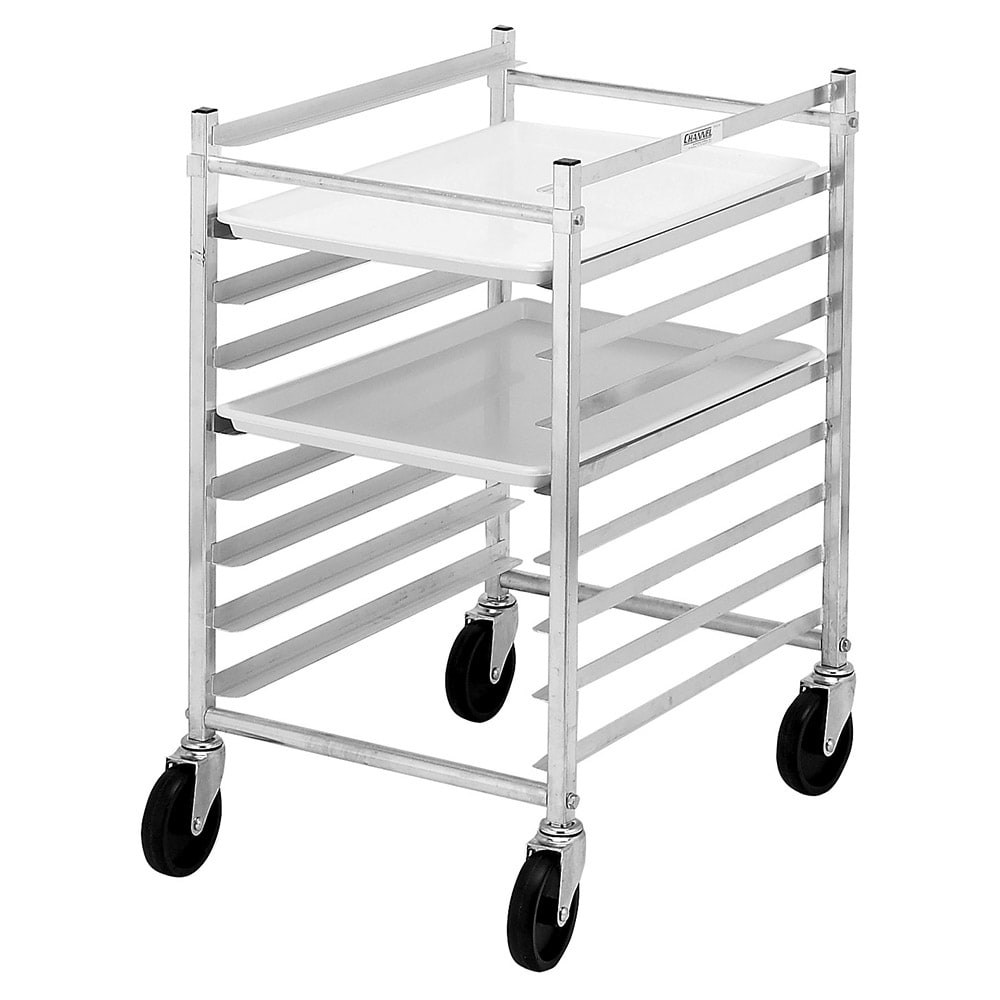 "Channel 425AKD 20.5"" 9-Bun Pan Rack w/ 3"" Bottom Load Slides"