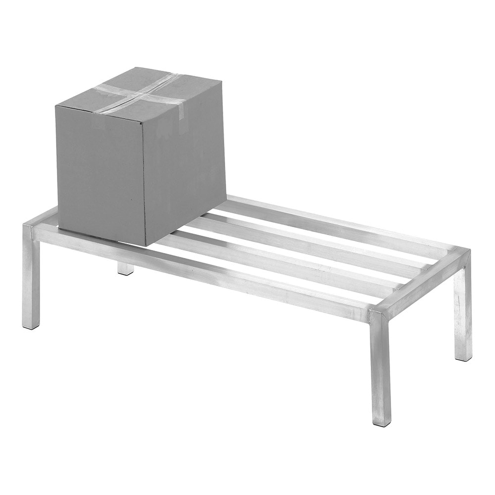 "Channel ADE2048 48"" Stationary Dunnage Rack w/ 2000-lb Capacity, Aluminum"