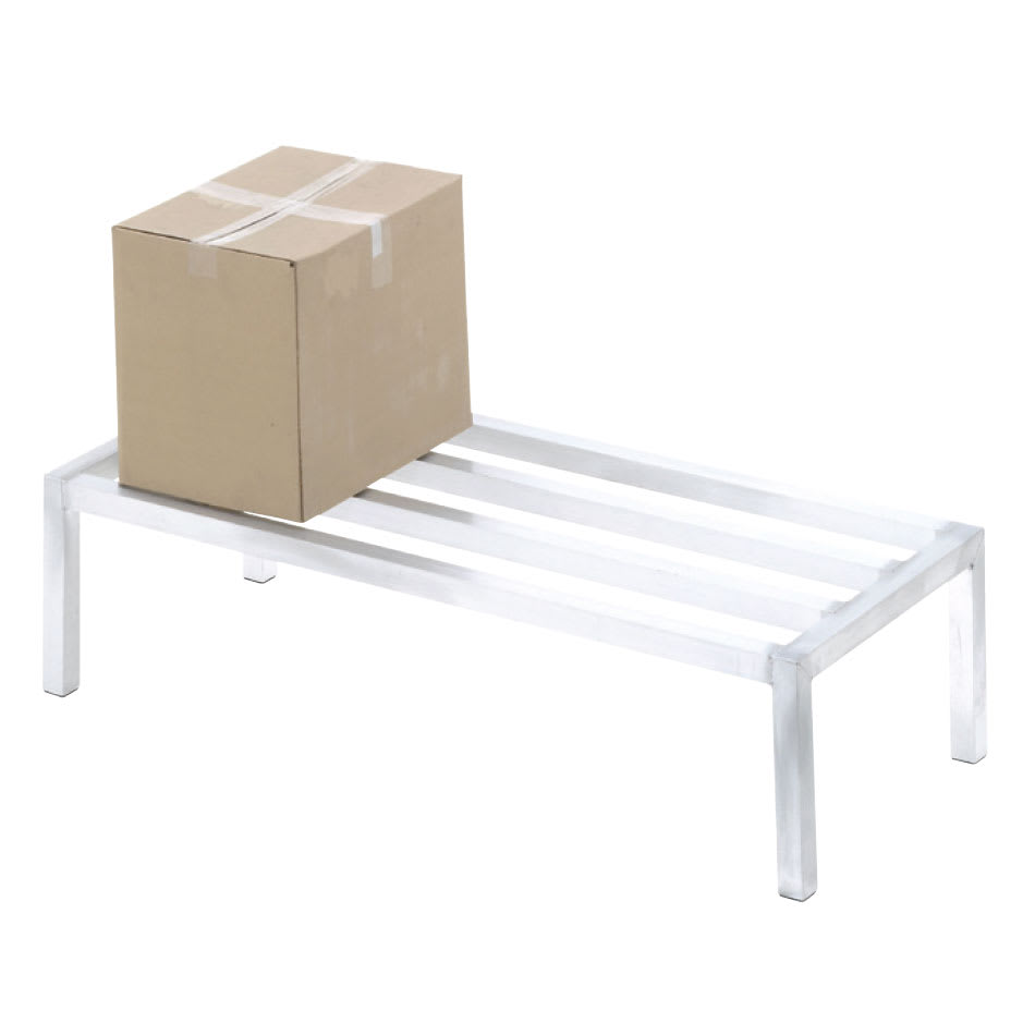 "Channel ADE2436 36"" Stationary Dunnage Rack w/ 2000 lb Capacity, Aluminum"