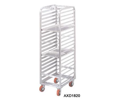 "Channel AXD1812 22""W 12-Sheet Pan Rack w/ 5"" Bottom Load Slides"