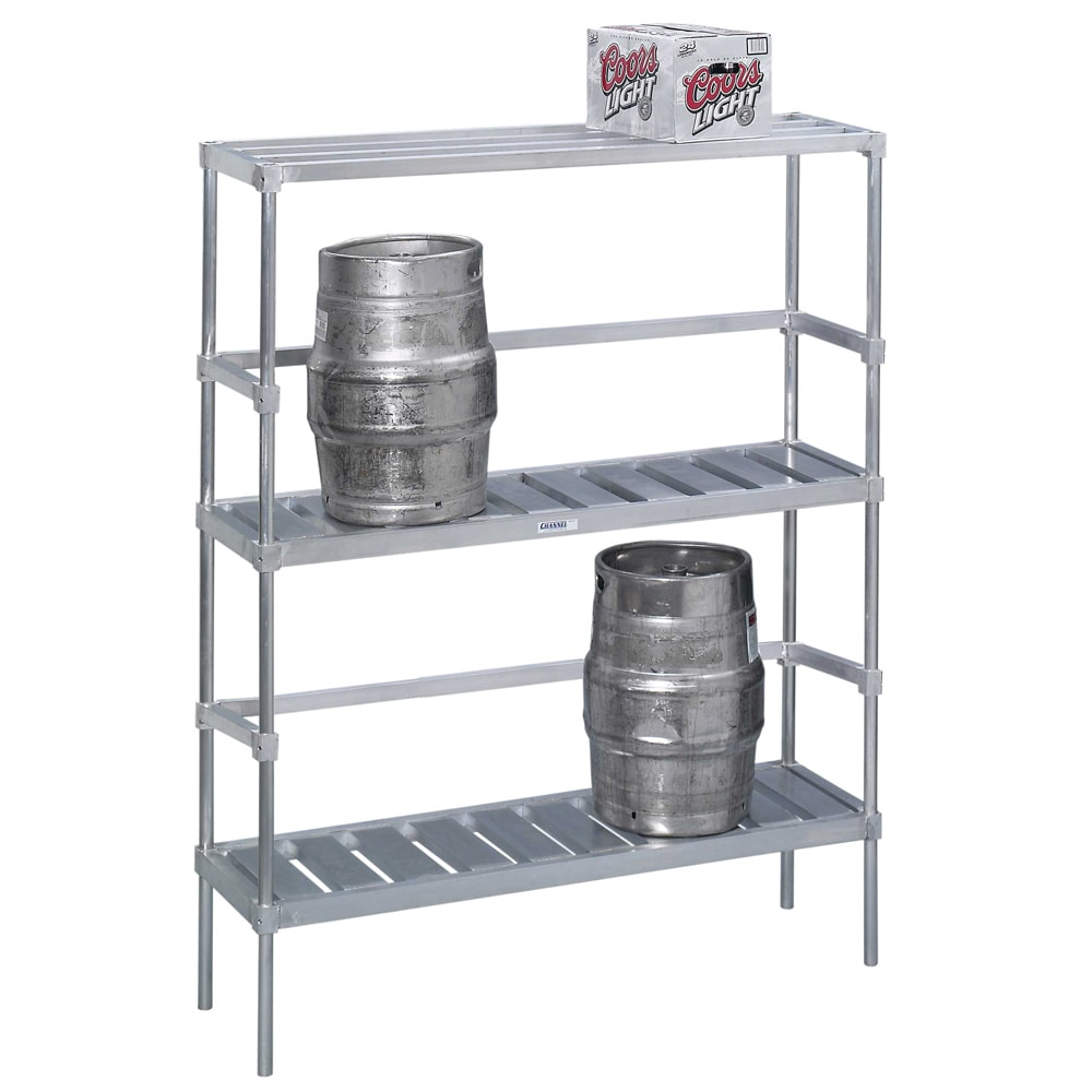 "Channel KAR93 (3) Level Keg Rack w/ (10) Keg Capacity, 93"" x 17"" x 68"""