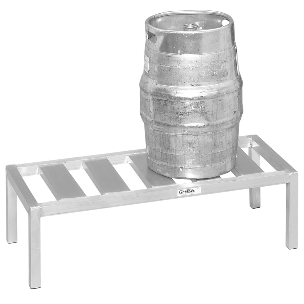 "Channel KDR148 (1) Level Keg Rack w/ (3) Keg Capacity, 48"" x 18"" x 12"""