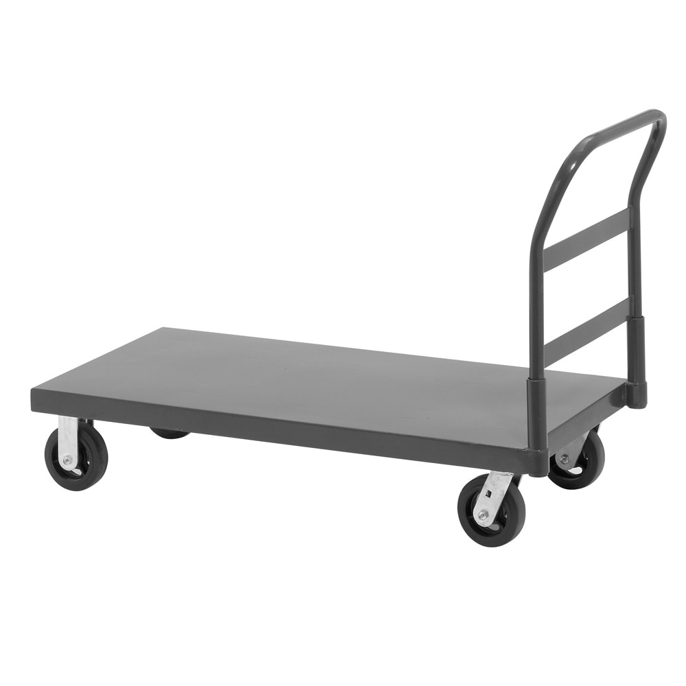 "Channel PT3060 2000-lb Platform Truck w/ Removable Handle - 30"" x 62"", Steel"