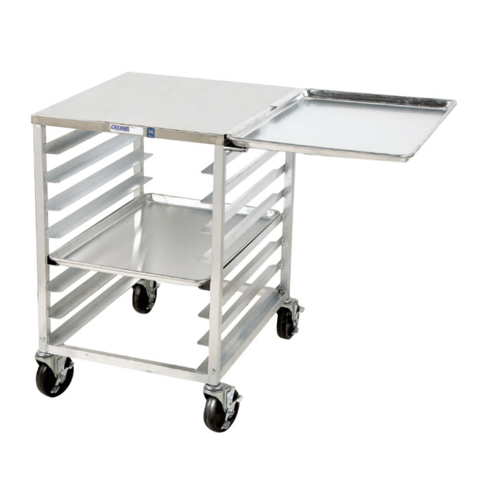 "Channel RG102 Front Loading Slicer Stand w/ 6-Pan Capacity & 4"" Spacing, Aluminum"