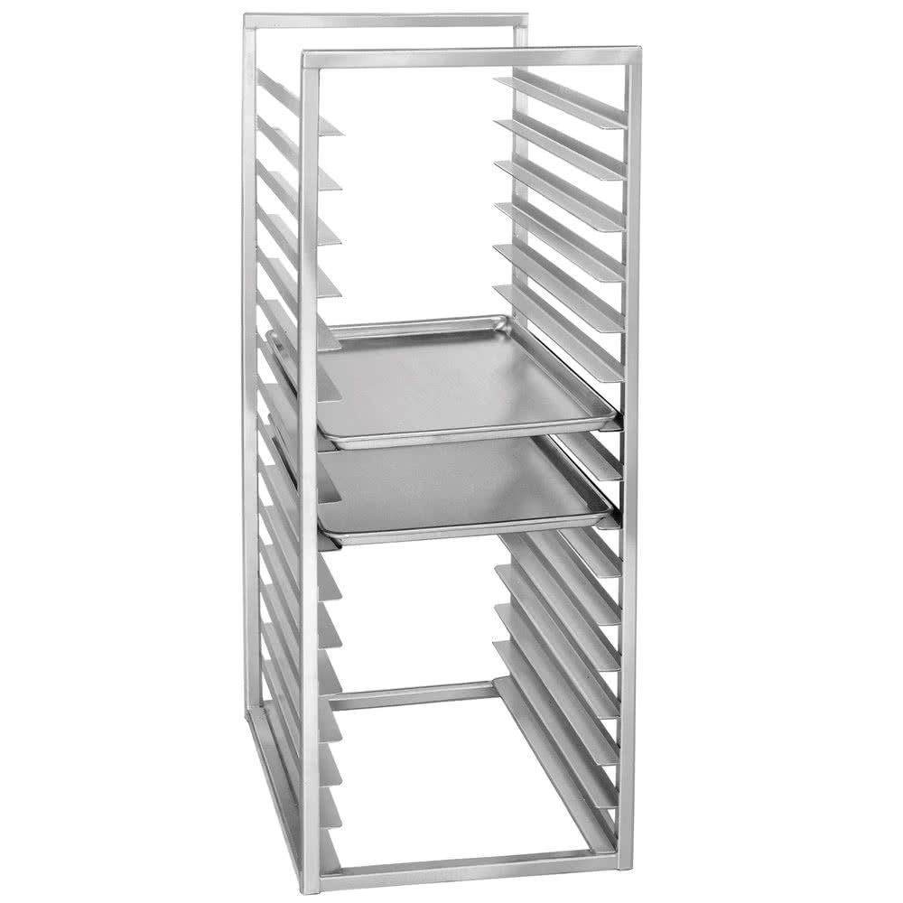 "Channel RIR-16KD 51"" Insert Rack w/ (16) Pan Capacity - Open Sides, Aluminum"