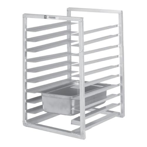 "Channel RIUTR-10 20.5""W 10-Steam Table Pan Rack w/ 5"" Bottom Load Slides"