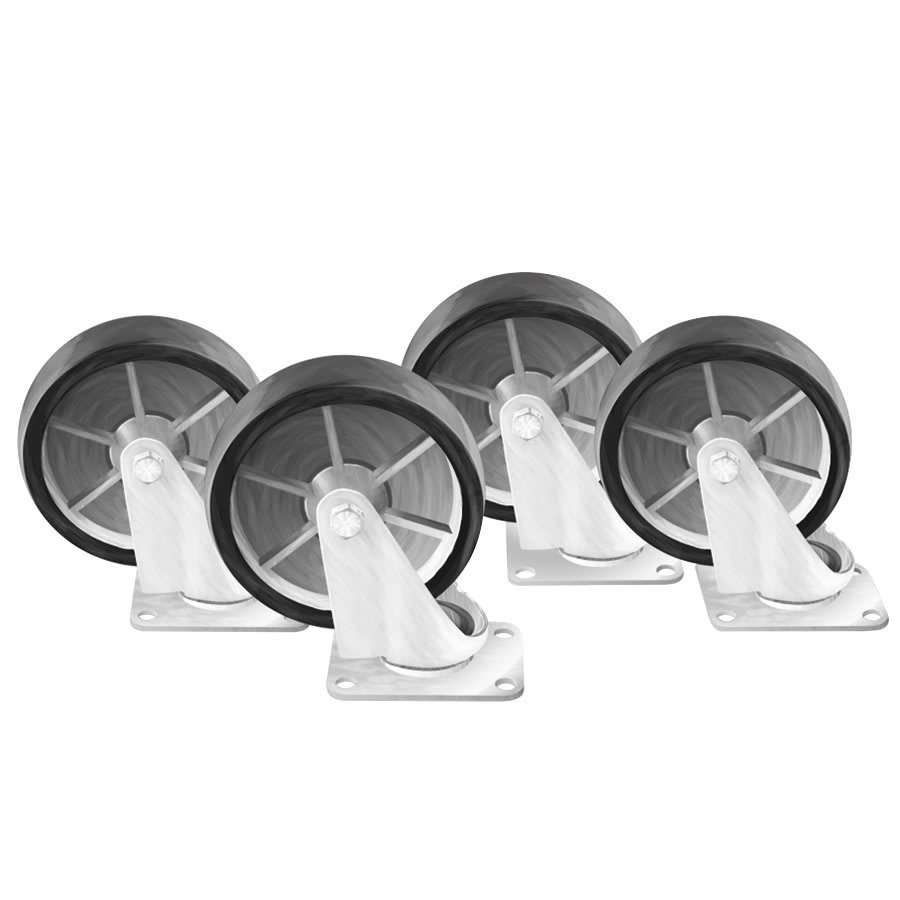 "Arctic Air 67000KH 5.75"" Casters for ABB & ADD Series Refrigerators"
