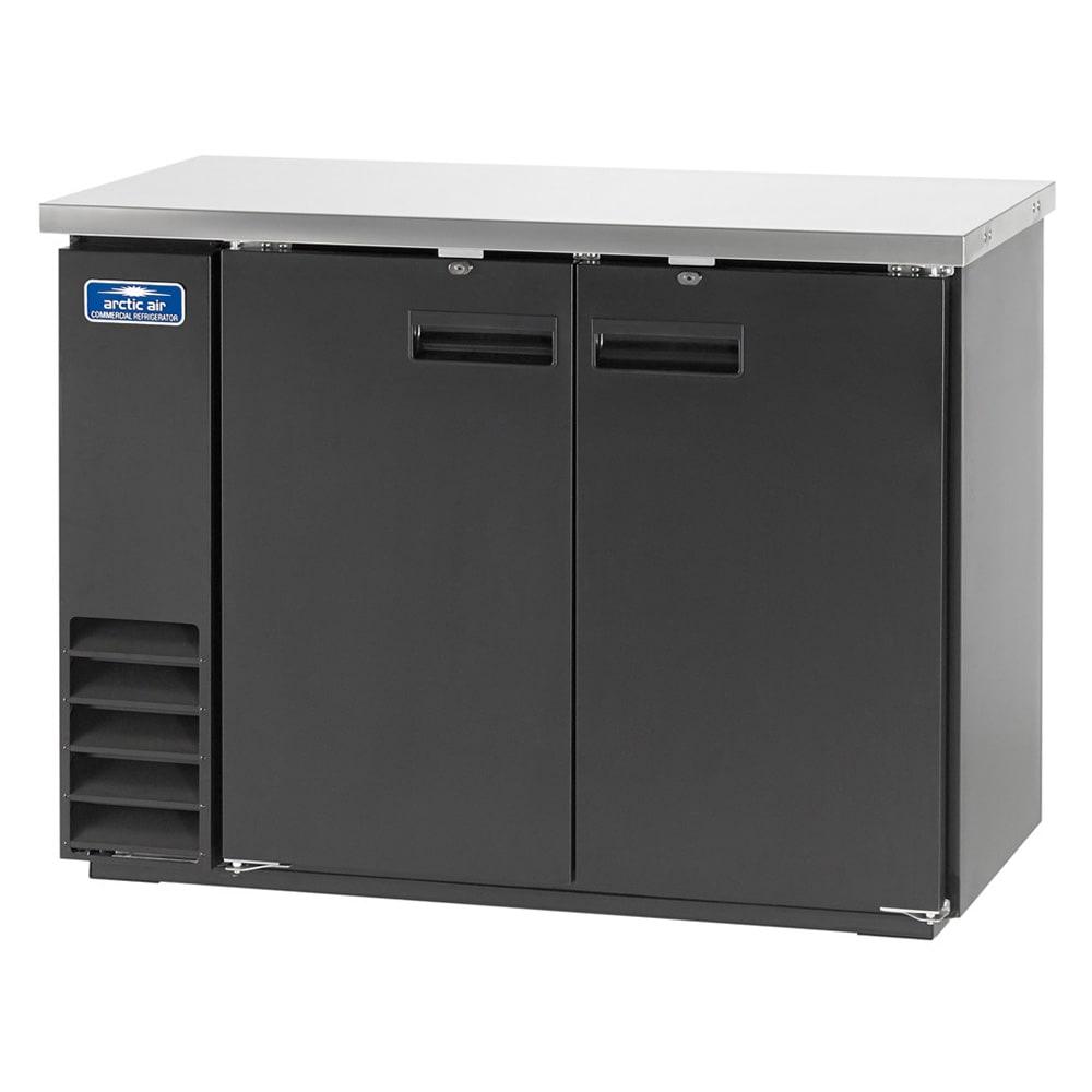 "Arctic Air ABB48 49"" (2) Section Bar Refrigerator - Swinging Solid Doors, 115v"