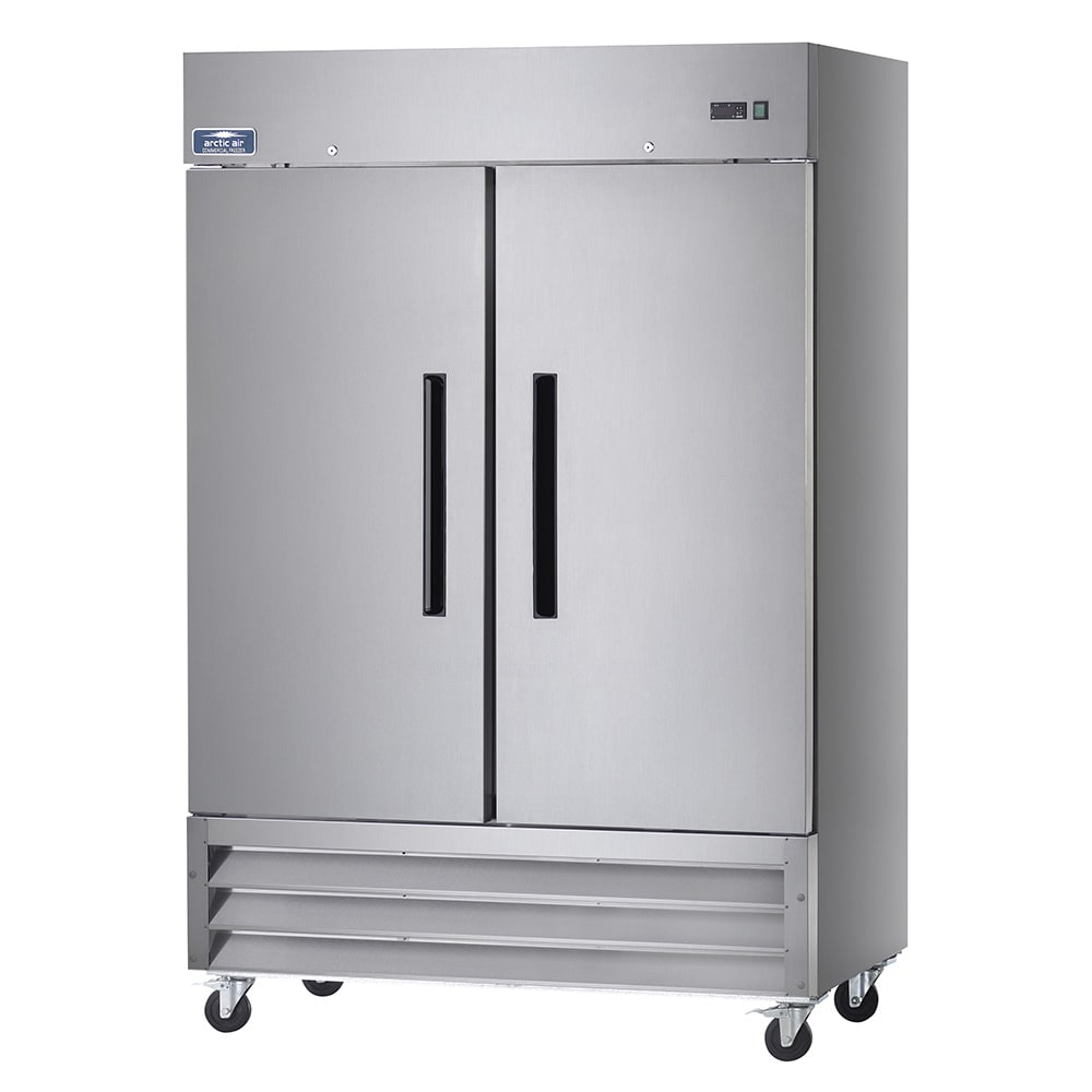 "Arctic Air AF49 54"" Two Section Reach-In Freezer, (2) Solid Doors, 115v"