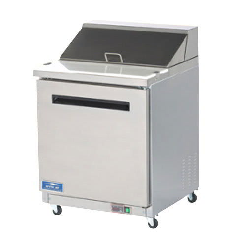 "Arctic Air AMT28R 29"" Sandwich/Salad Prep Table w/ Refrigerated Base, 115v"