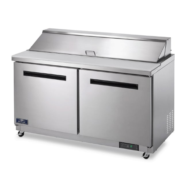 "Arctic Air AMT60R 61"" Sandwich/ Salad Prep Table w/ Refrigerated Base, 115v"