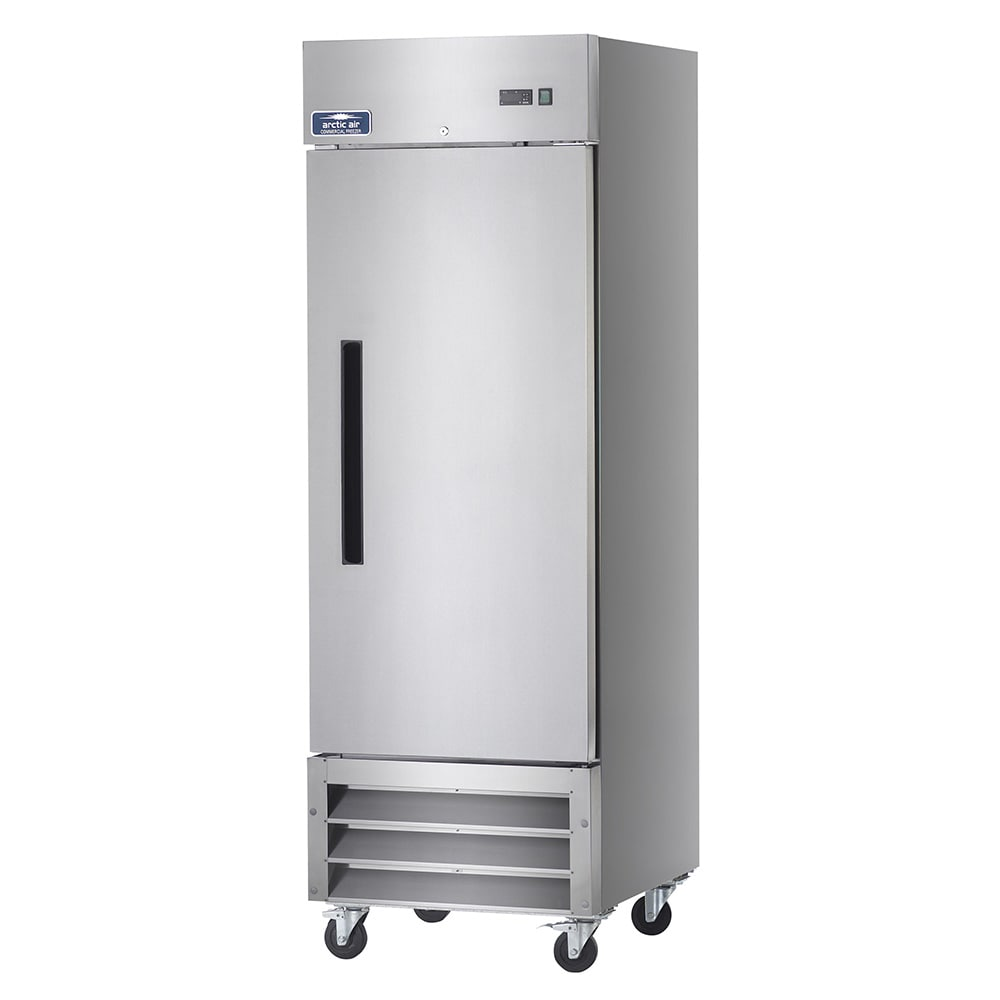 "Arctic Air AR23 26.75"" Single Section Reach-In Refrigerator, (1) Solid Door 115v"