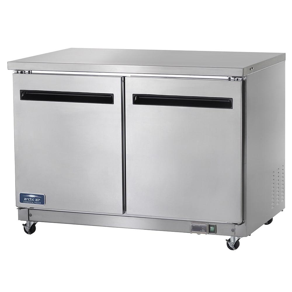 Arctic Air AUC48F 12-cu ft Undercounter Freezer w/ (2) Sections & (2) Doors, 115v