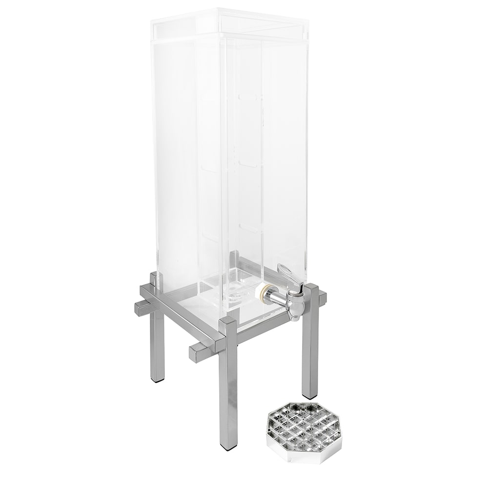 Cal-Mil 1132-3INF-74 3 gal Beverage Dispenser - Infusion, Drip Tray, Silver
