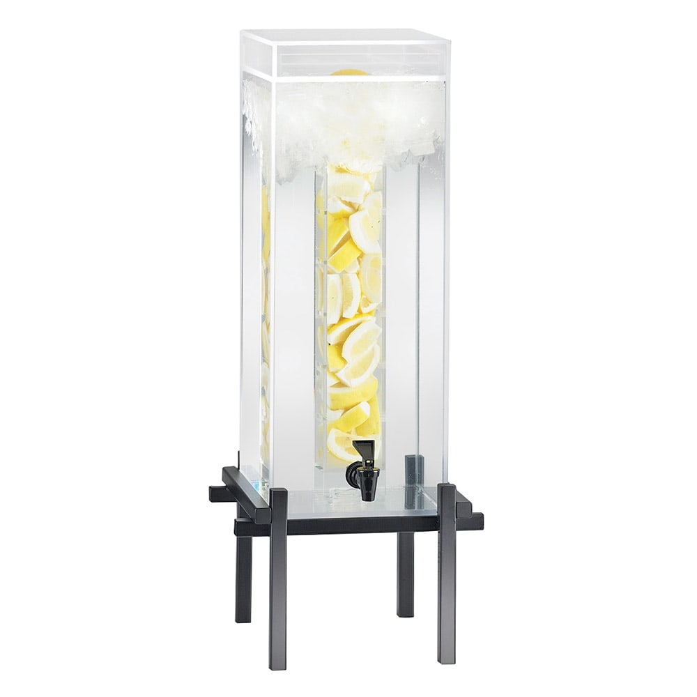 Cal-Mil 1132-5INF-13 5-gal Beverage Dispenser - Infusion, Drip Tray, Black