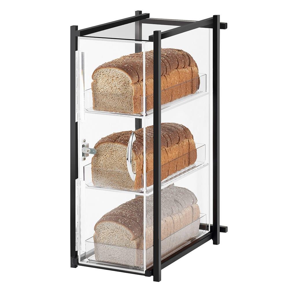 Cal-Mil 1155-74 3 Tier Bread Case - Silver
