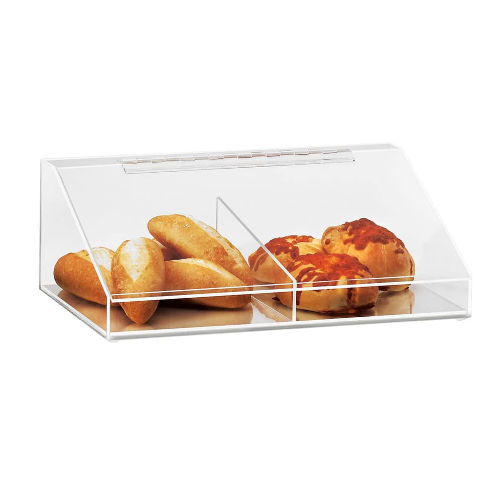 "Cal-Mil 1201 Bin Or Case Topper, 18.5 x 13 x 6"" High, Clear Acrylic"