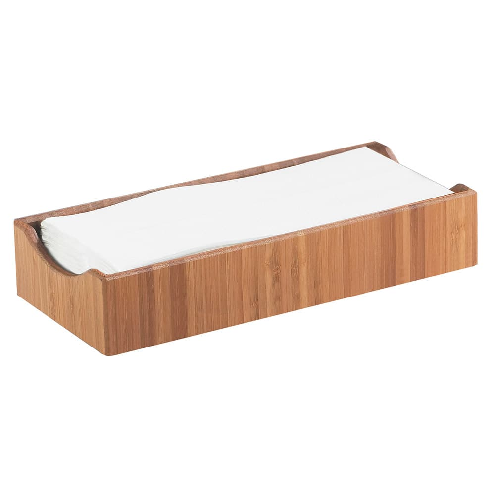"Cal-Mil 1234 Bamboo Condiment & Napkin Holder, 9.5 x 4.75 x 2"" High"