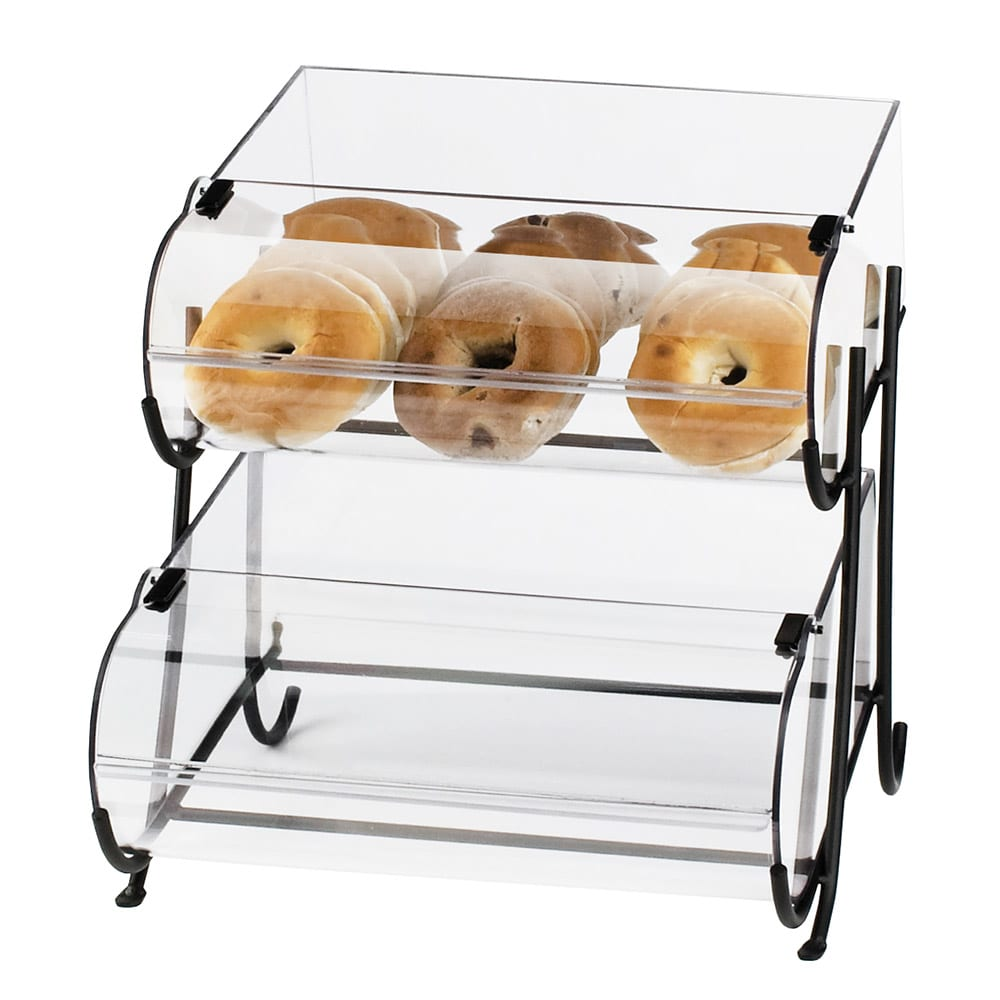 Cal-Mil 1280-2 2-Tier Display Stand w/ (2) 10 x 14\
