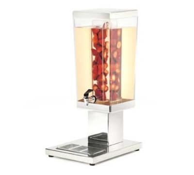Cal-Mil 1282-3AINF 3-Gal Beverage Dispenser w/ Poly Chamber, Stainless Base