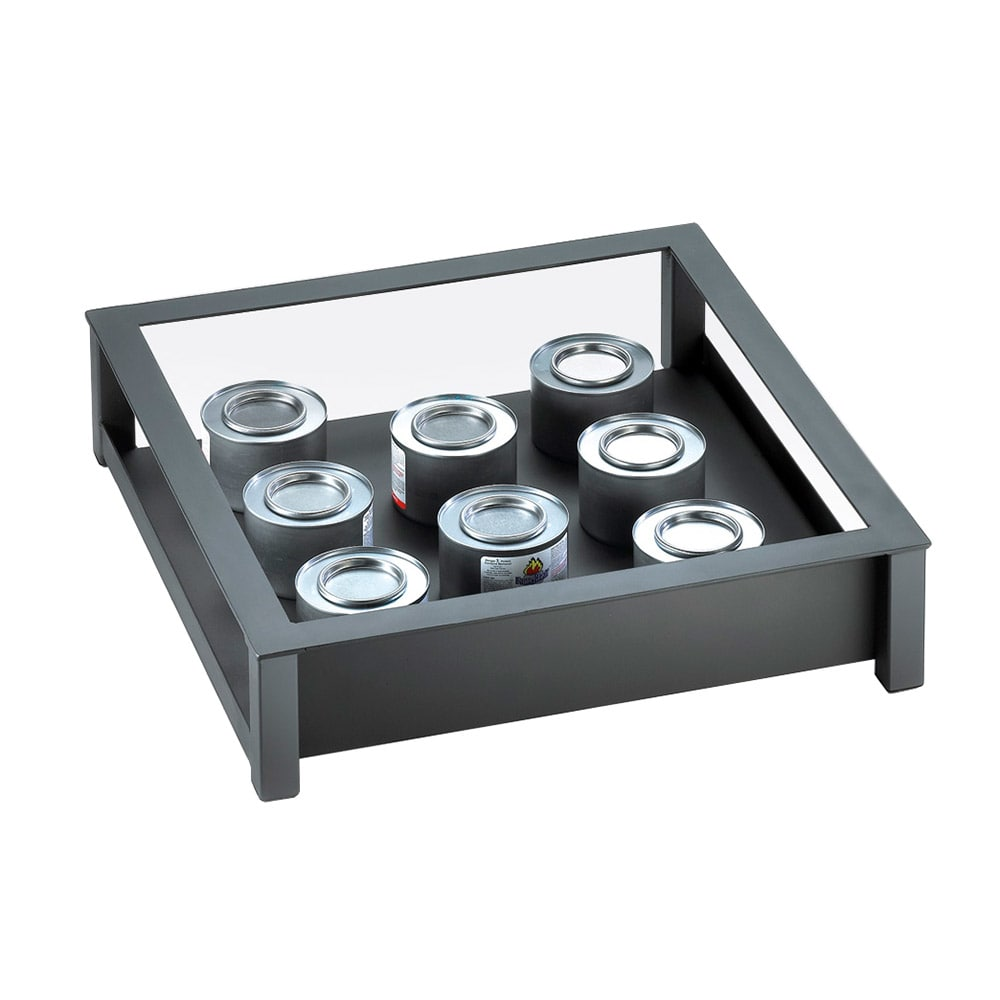 "Cal-Mil 1286-18-13 Square Action Station Frame, 18 x 18 x 4"" High, Black"