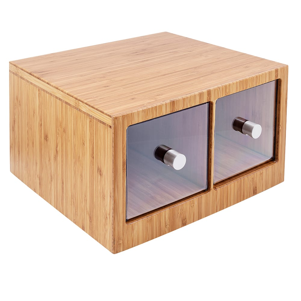 Cal-Mil 1337-60 Bread Case - Bamboo