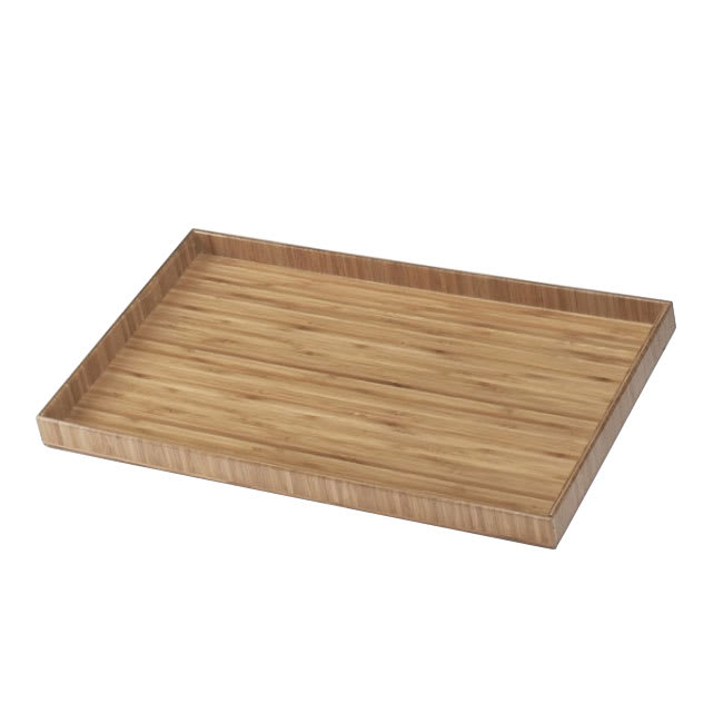 "Cal-Mil 1367-10-60 Bamboo Tray Insert, 10 x 12"""