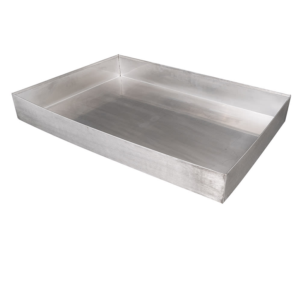 "Cal-Mil 1398-55 Cater Choice Housing - 24x32"", Stainless Steel"