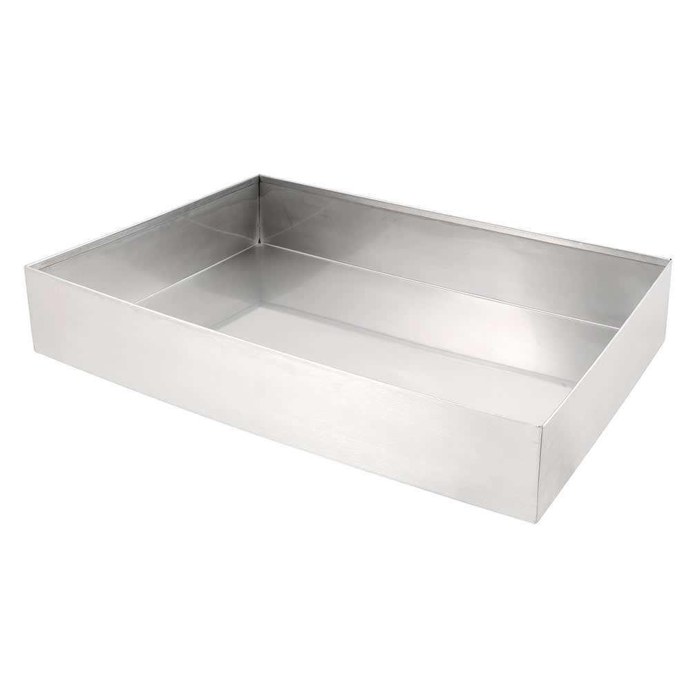 "Cal-Mil 1399-55 Cater Choice Housing - 16x24"", Stainless Steel"