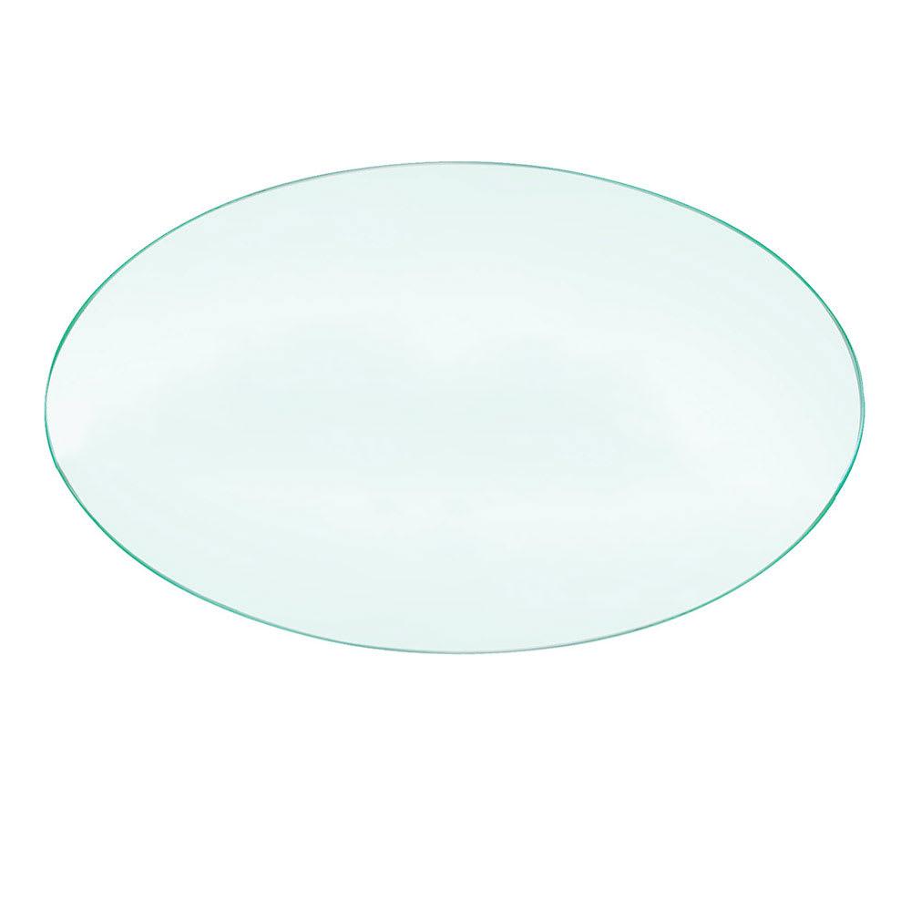 "Cal-Mil 1443-12 12"" Round Acrylic Riser Shelf"