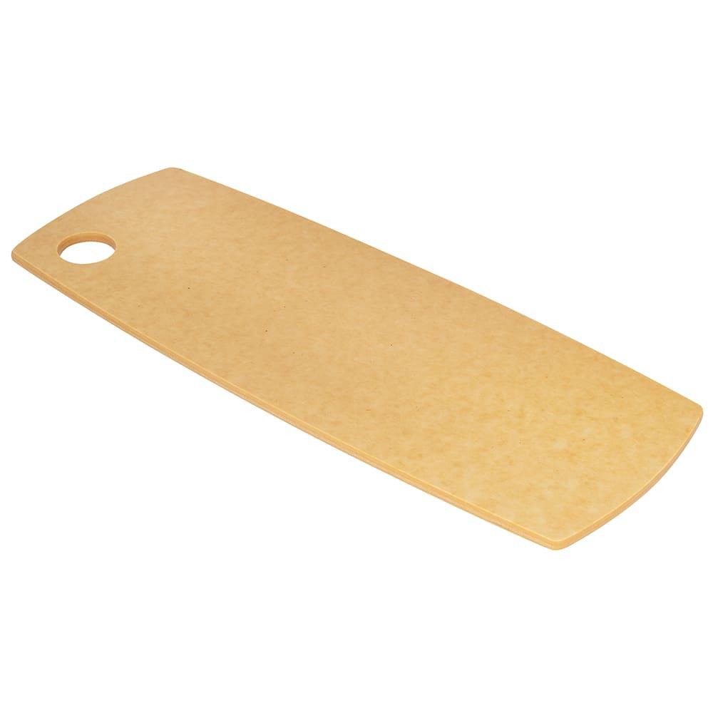"""Cal-Mil 1531-616-14 Flat Bread Serving Display Board w/ Round Corner, 16 x 6 x .25"""""""