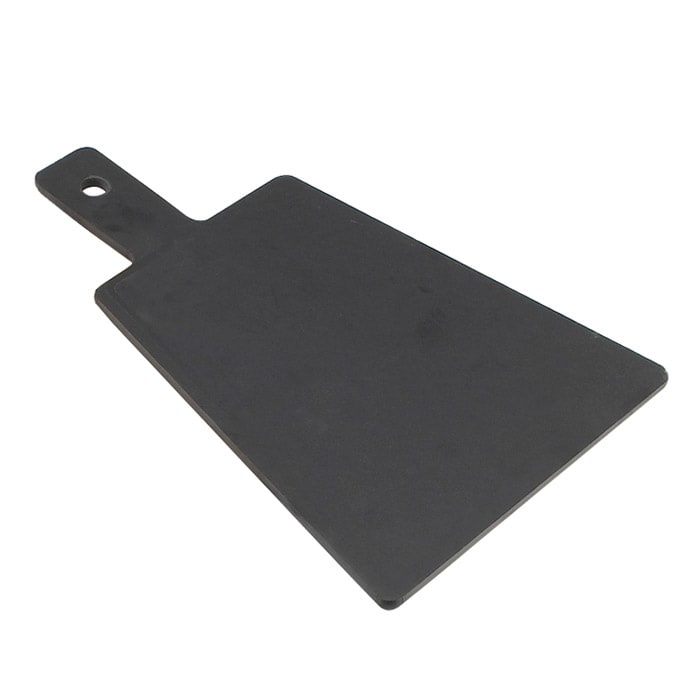 "Cal-Mil 1535-12-13 12"" Flat Bread Serving Display Board, Black"