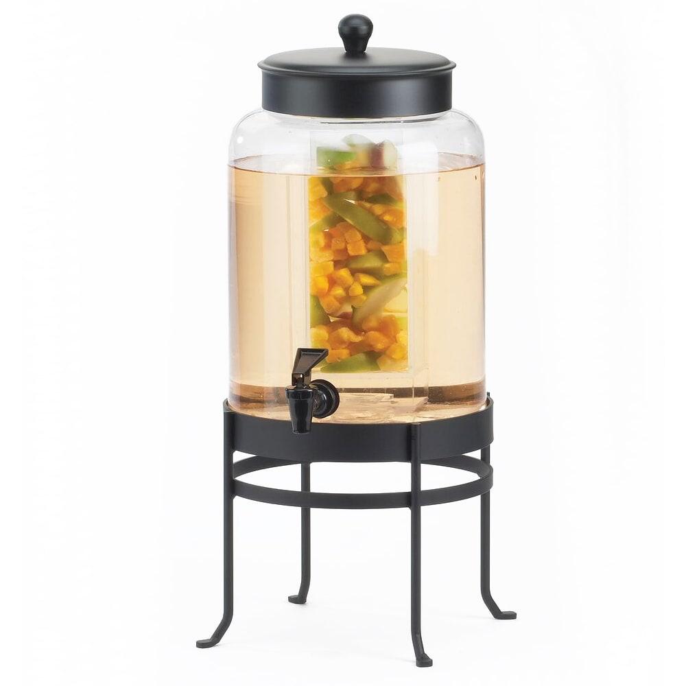 Cal-Mil 1580-3INF-13 Infusion Beverage Dispenser w/ Glass & Black Frame