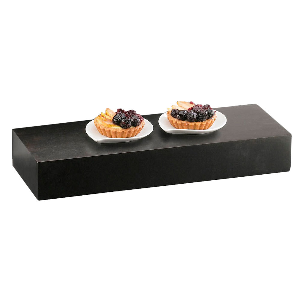 "Cal-Mil 166-3-96 Rectangle Display Riser - 20x7x3"", Midnight"
