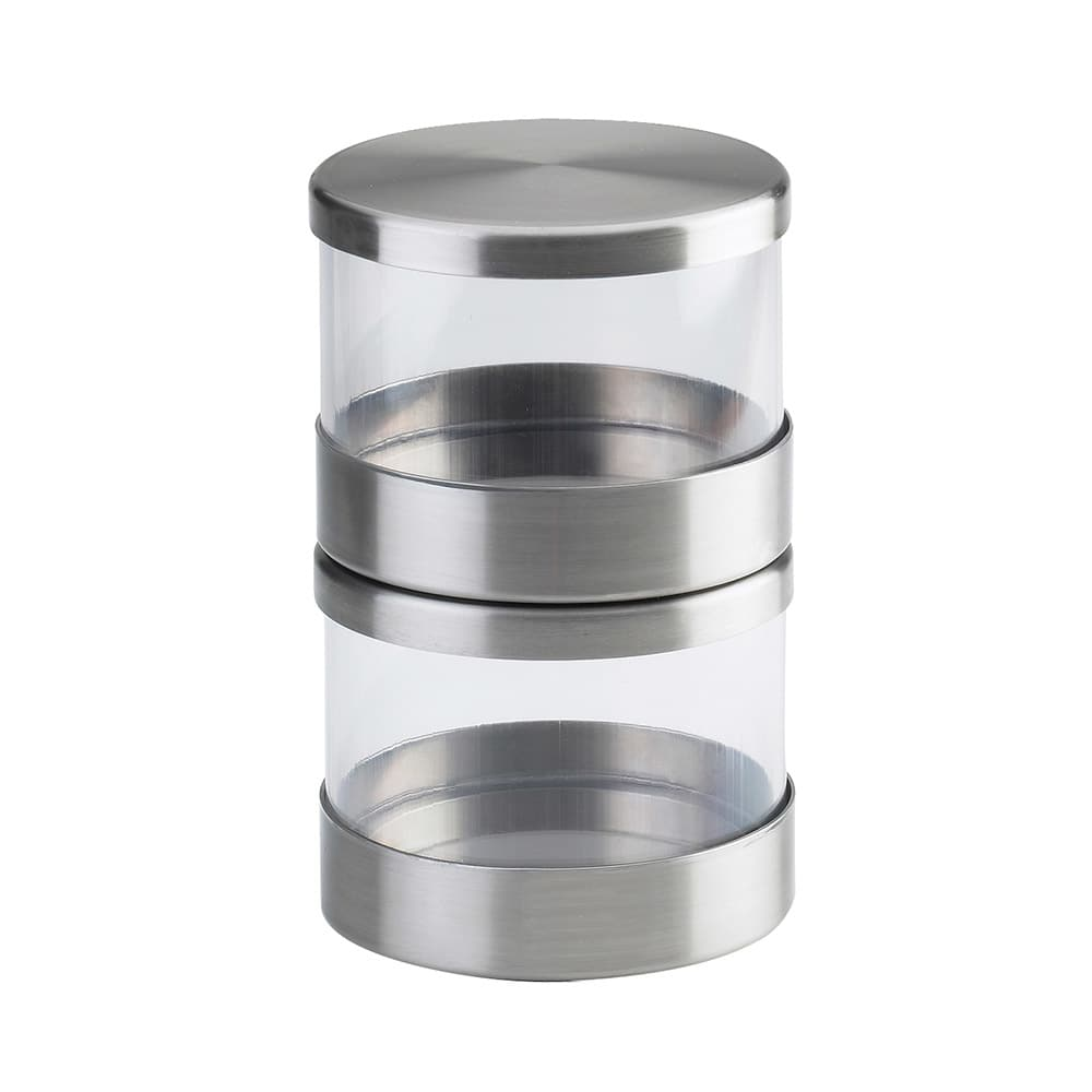 Cal-Mil 1851-4 16 oz Mixology Jar - Lid, Stainless Steel