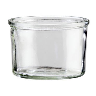 Cal-Mil 1851-4JAR 16 oz Mixology Jar Only for 1851 4BASE - Glass, Clear